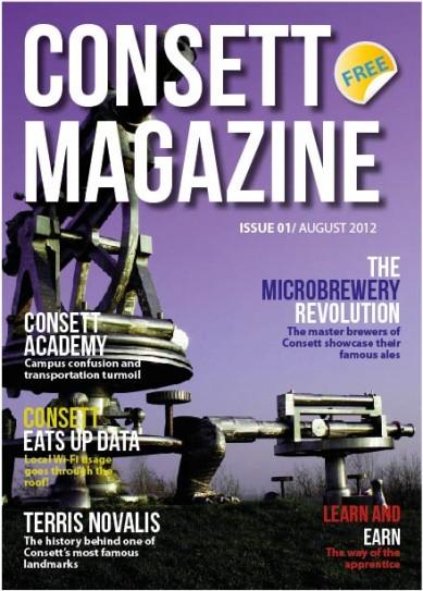 Consett Magazine Front Cover
