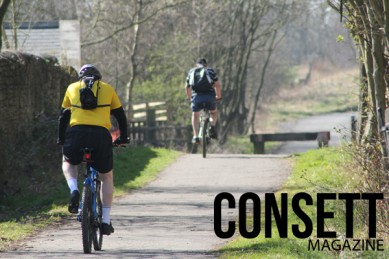 Cycling in Consett
