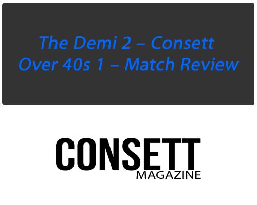 Consett Demi Football Over 40s