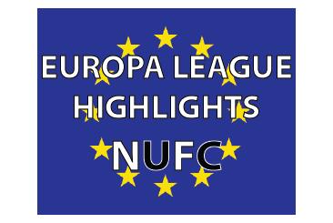 Europa League highlights NUFC