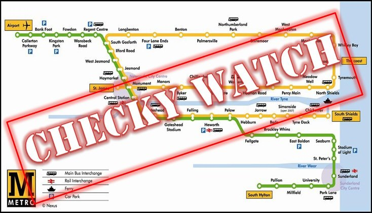 Checky Watch - Metro Train Fare Avoidance