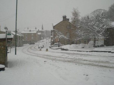 Shotley Bridge - Christmas Snow in Shotley Bridge
