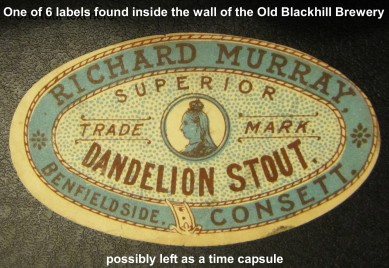 Richard Murray Brewery Label