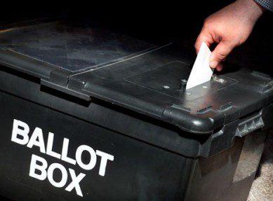 PCC Ballot box