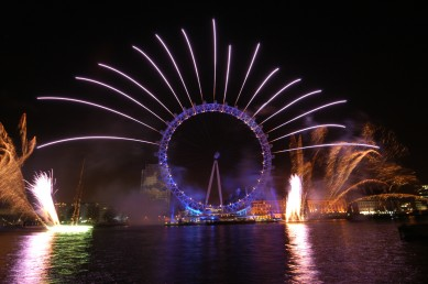 New Year at the London Eye