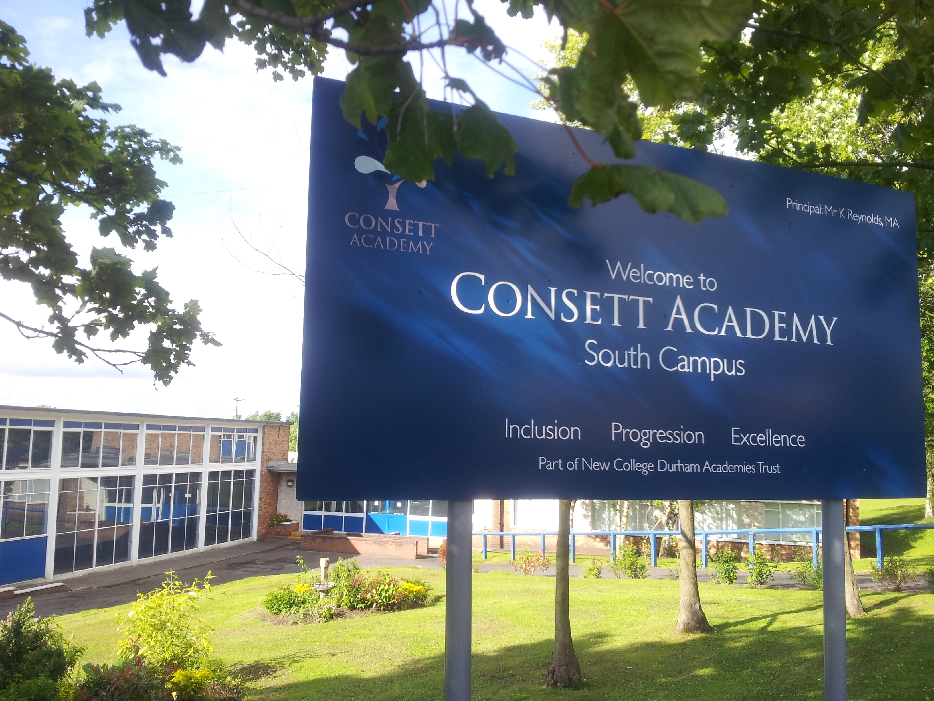 Consett Academy Contamination at New Site