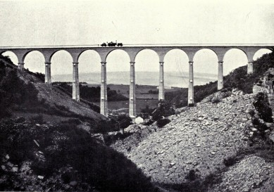 A classic photo of the Hownesgill Viaduct