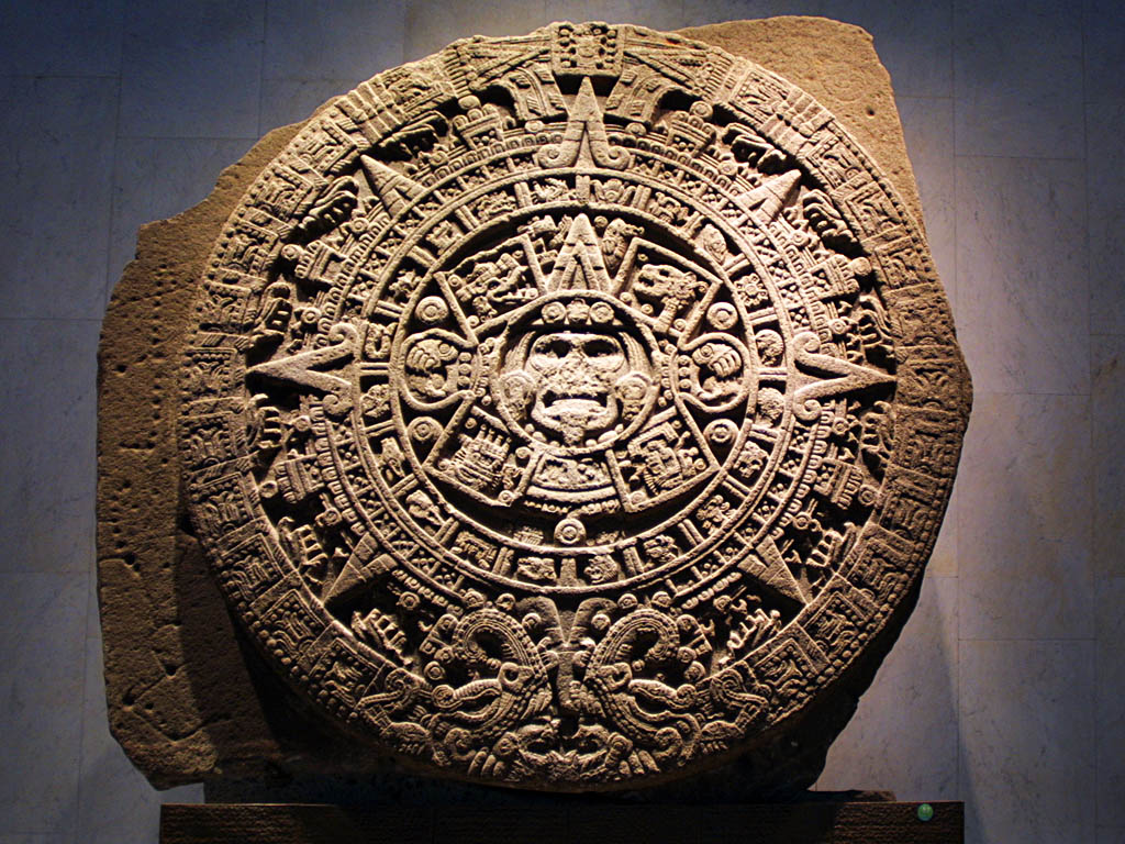 The mayan calender which predicts December 21st to be the end