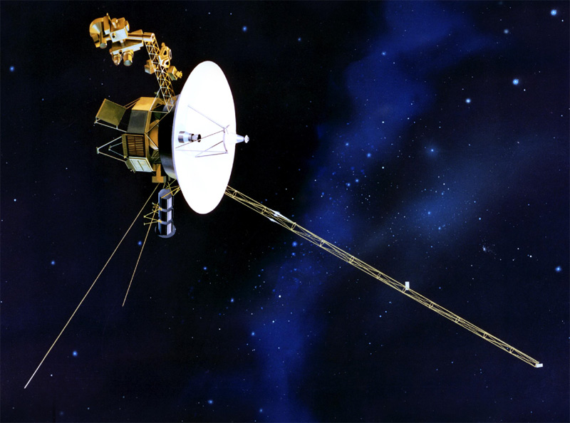 Voyager One - Journey into Space