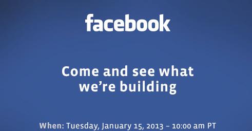 Facebook Jan 15th Event Invite