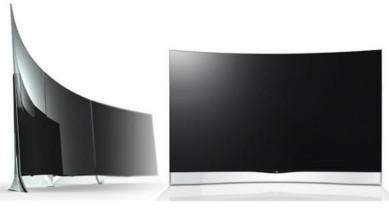 curved screens OLED LG