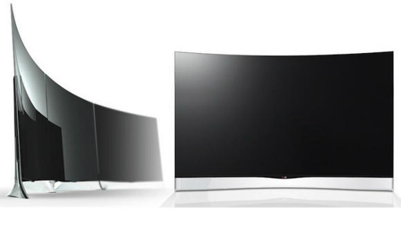 curved screens OLED LG