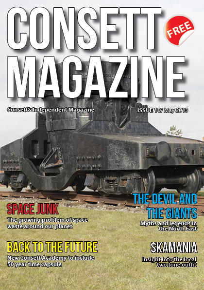 Consett Mag Issue Front Cover