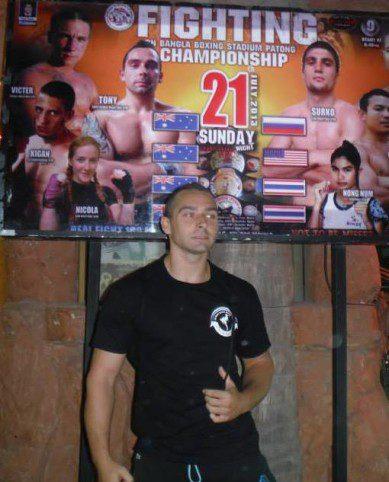Tony O'Brien Muay Thai