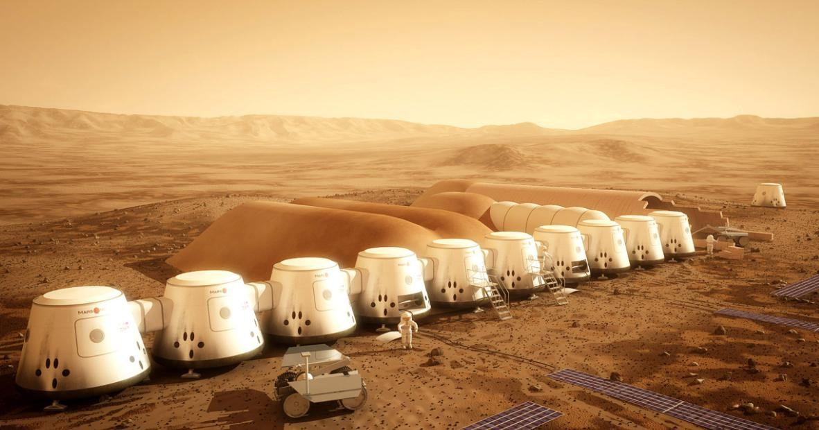 Mars One Colonisation