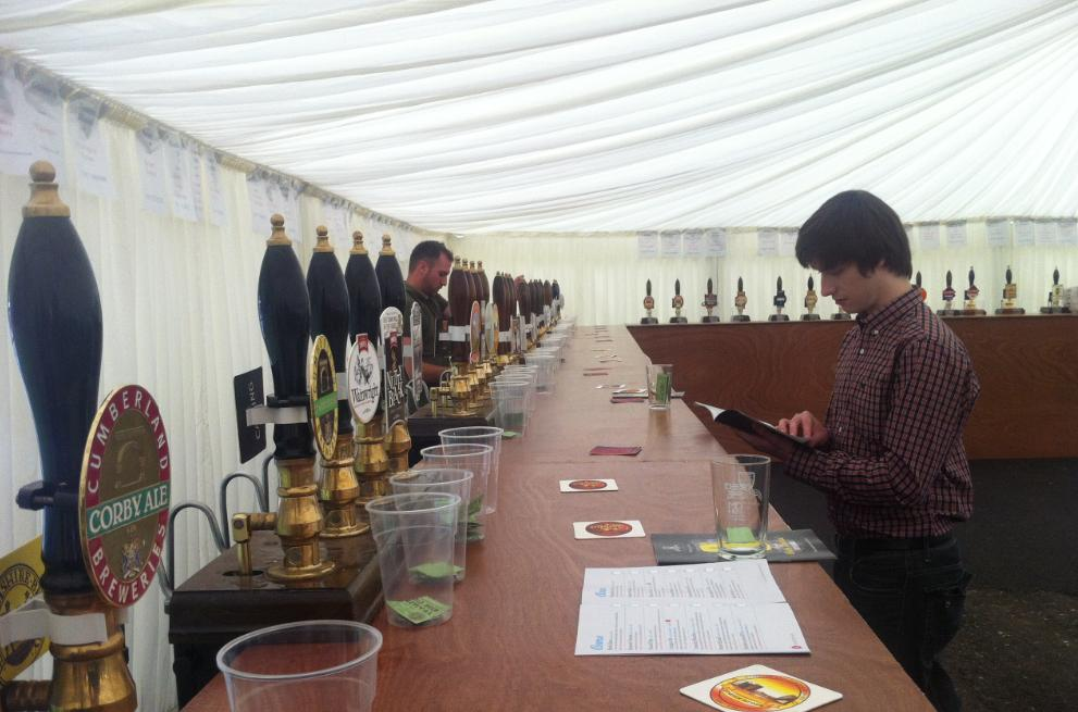 Shotley Bridge Beer Festival 2