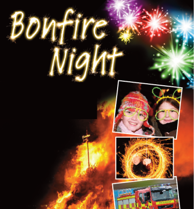 Consett Bonfire Night Event - Fireworks Display