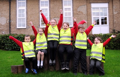 Walk to school month 2