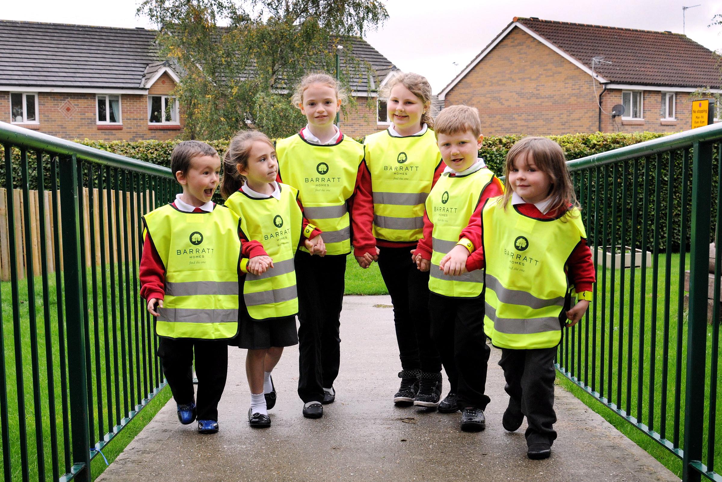 Walk to school month 1