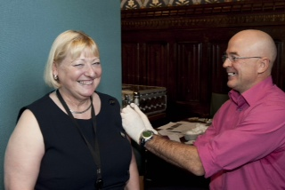 Pat Glass Flu Jab