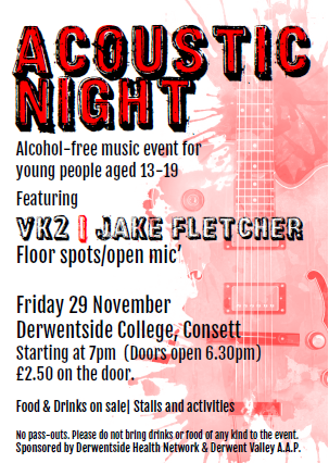 Consett Teens Acoustic Night