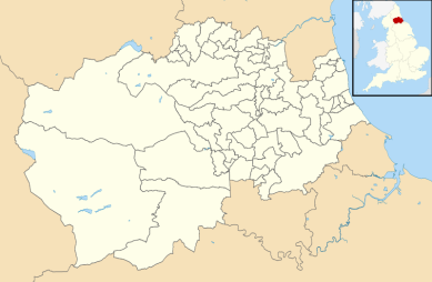 Durham County Council Map