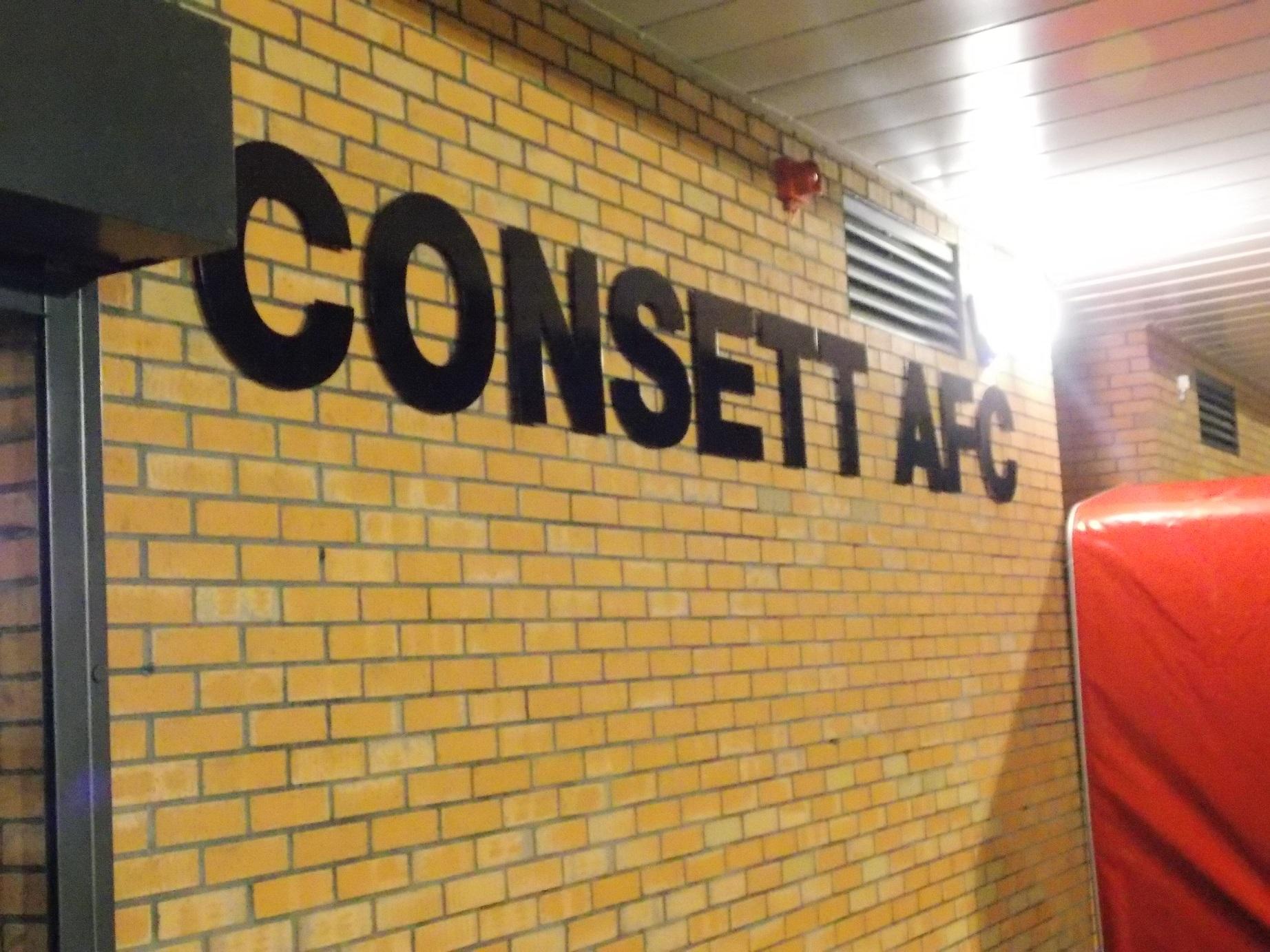 Consett AFC photograph