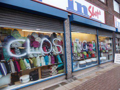 In Shops Closure