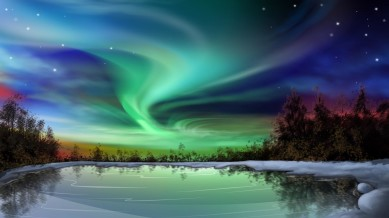 Northern Lights North East England