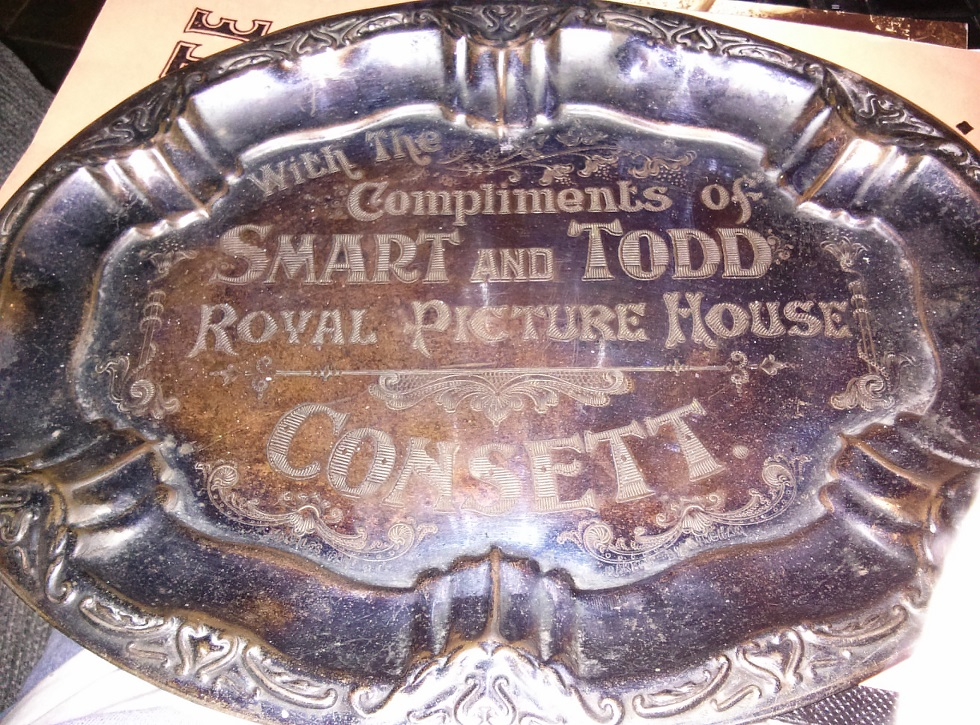 Donated theatre Salver