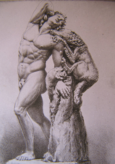 Drawing of Lough Milo of Croton