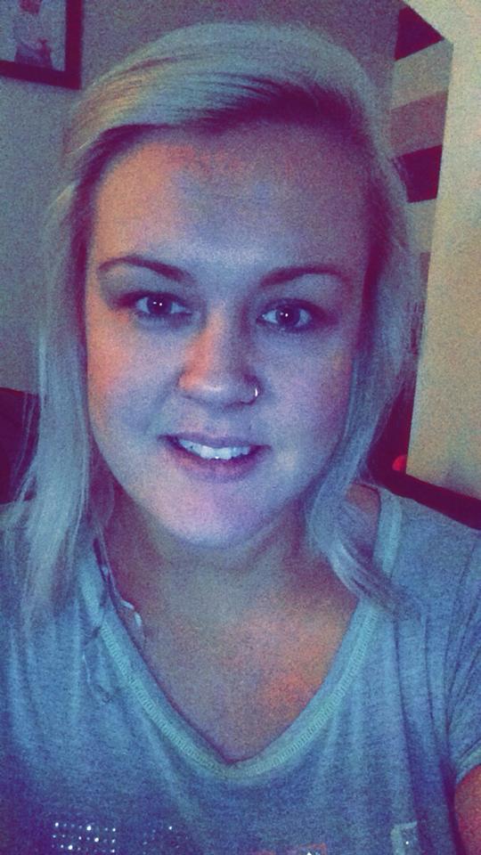Kyla Clark - No Make up Selfie posted to Facebook