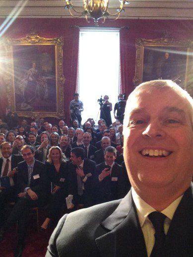 The Duke Of York Selfie
