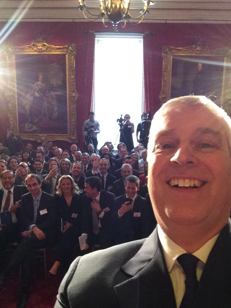 The Duke Of York Selfie