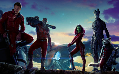 guardians of the galaxy movie wide