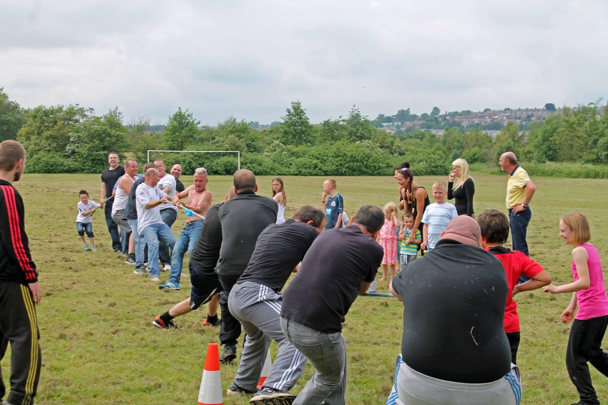 Craghead Fun Day 2014