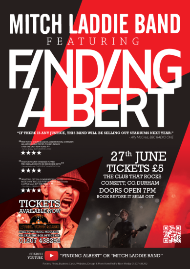 Finding Albert Mitch Laddie Band