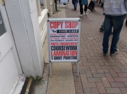 Consett Copy Shop