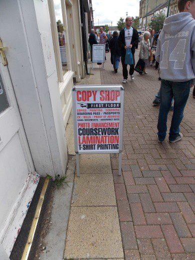 Consett Copy Shop