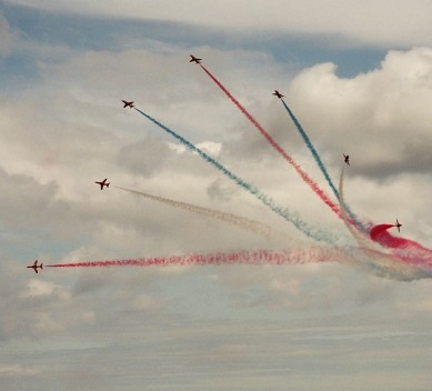 The Red Arrows return for the 26th Sunderland International Airshow