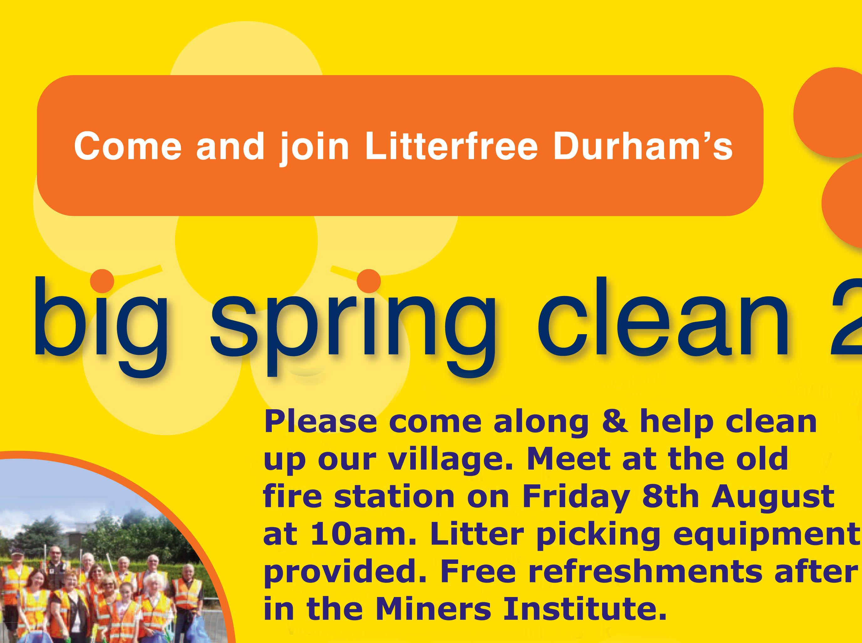 langley park big spring clean