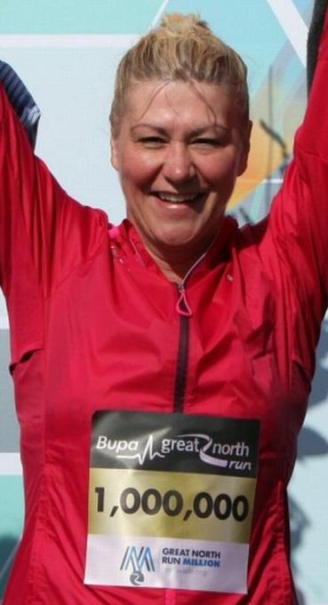 GNR One Millionth runner, Tracey Cramond