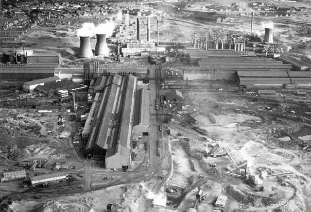 Consett Steelworks 1975