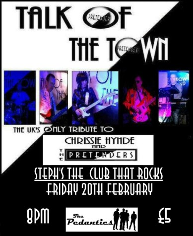 Music of The Pretenders - Comes to Consett