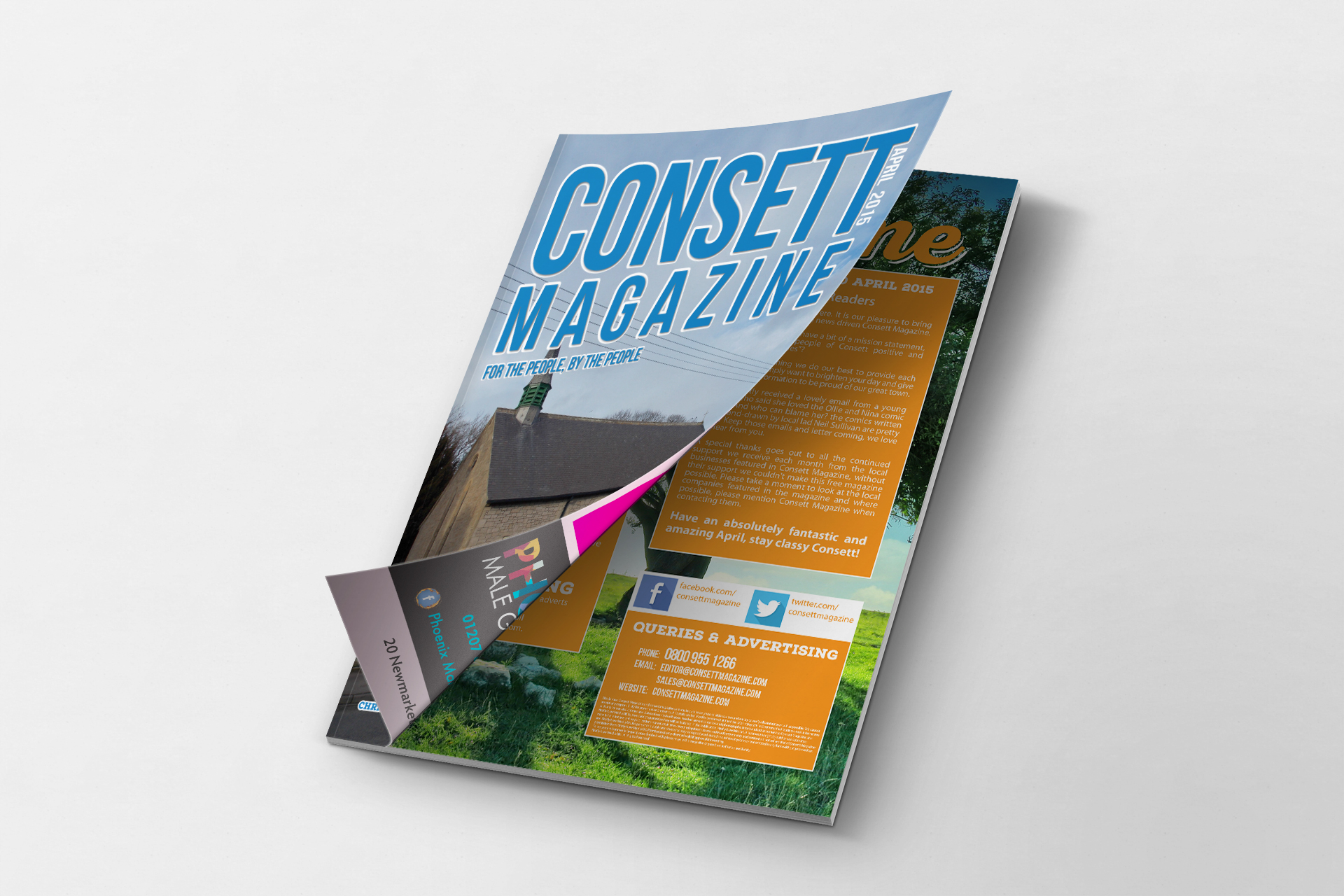 Consett Magazine April