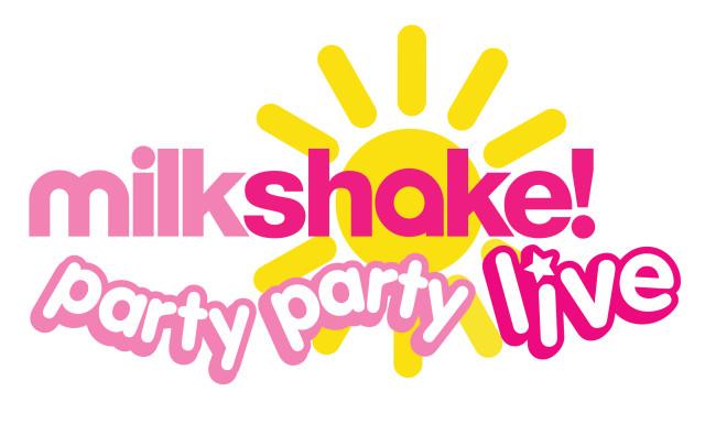 milkshake logo pink
