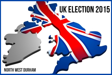 UK General Election - North West Durham Candidates