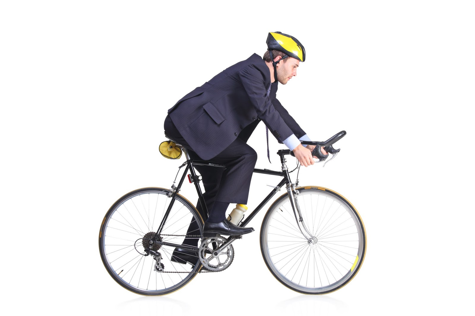 Guy On Bike Pictures to Pin on Pinterest