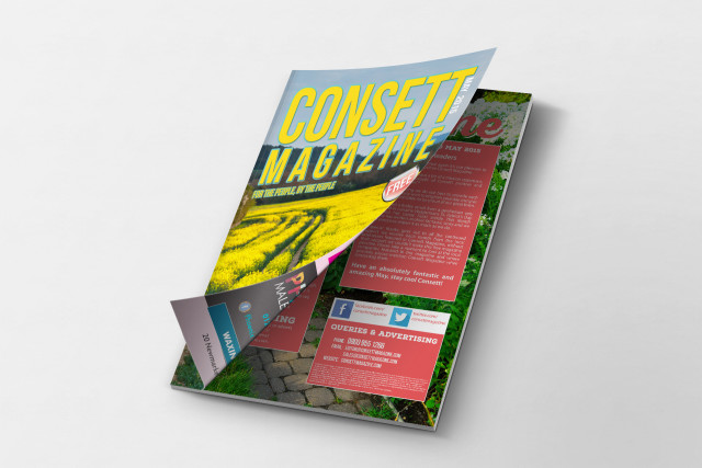 Consett Magazine May 2015