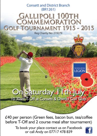 RBL Golf Fundraiser